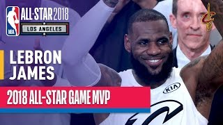 LeBron James MVP Performance | 2018 NBA All-Star Game