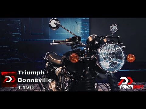 Triumph Bonneville T120 : First Impressions : PowerDrift