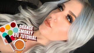 Orange Smokey Eye Tutorial! HELLO FALL!!