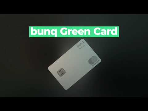 BUNQ introducing Bunq Green Card