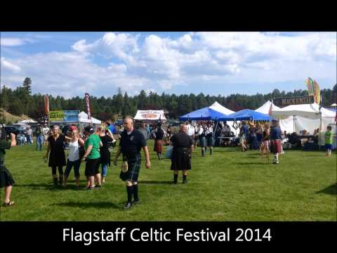 Flagstaff Celtic Festival Bagpipe Song