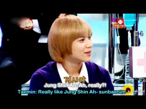 (Eng) 101011 SHINee Taemin explains his ideal girlfriend