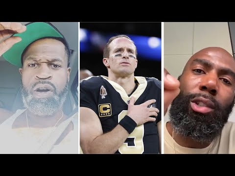 Stephen Jackson & Malcolm Jenkins CALL OUT Drew Brees  'F** k Drew Brees'