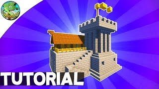 Minecraft: How to Build a Small Fort