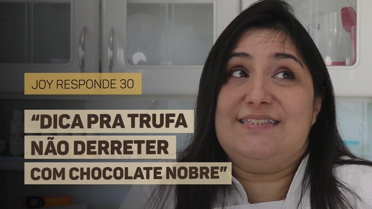 Trocar Antimofo por Cachaça, Manteiga sem Sal e Chocolate na Geladeira | Joy Responde #30