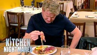 Gordon Ramsay Perplexed By Steak Dish   Kitchen Nightmares