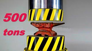 500 TON HYDRAULIC PRESS, 1 000 000 LBS MONSTER