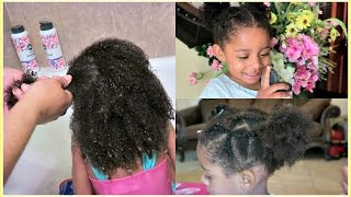 Easy Toddler Curly Hair Routine - Feat  SoCozy