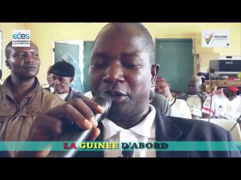Debates of the Caravan - PACTE project - La Guinée d'abord (FR)