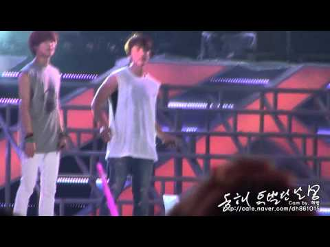 120818 SMTown Seoul Ending - Donghae (동해-특별한날 Cam by.해빵)