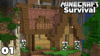 Let's Play Minecraft Survival : Awesome New Adventure! Episode 1