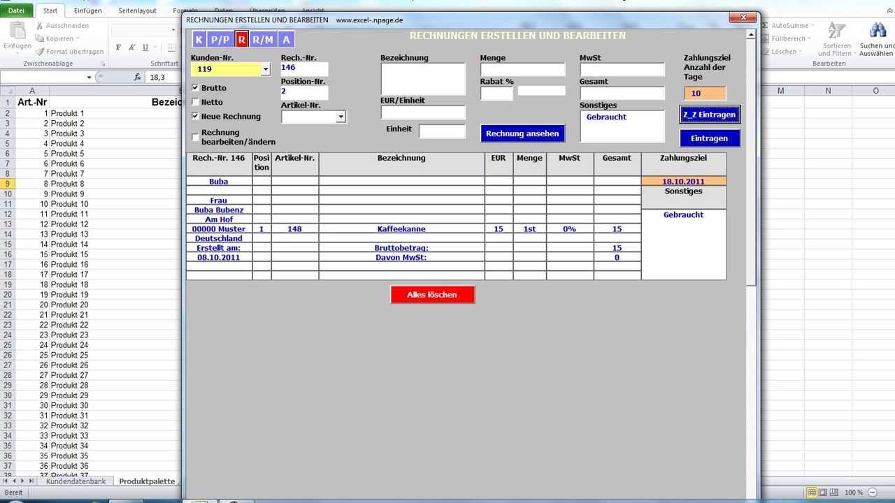Rechnung Erstellen Programm Rechnung Erstellen Software Kostenlos