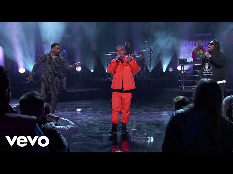 J. Balvin - No Es Justo ft. Zion & Lennox (Live From Jimmy Kimmel!)