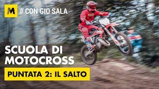 Scuola di Motocross con Gio Sala: il salto, Pt 2 [English sub.]