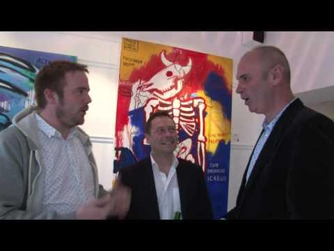 Joe Lindsay Solo Art Exhibition - Whalley Fine Arts, Holywood