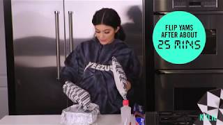 [FULL VIDEO] Cooking With Kylie Jenner and Her Assistant Candied Yams Recipe