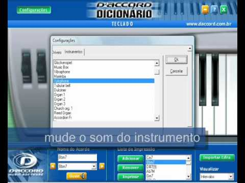 Um modo fácil de tocar teclado