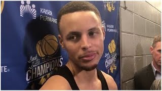 Stephen Curry on Kevin Durant's fight with Draymond Green & the future of the Warriors