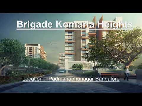 Brigade Komarla Heights Appartments In Padmanabhanagar | South Bangalore | Off Uttarahalli | Bangalore