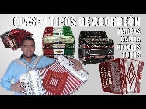 Clase 1 Que acordeón comprar para aprender a tocar (Clases de Acordeón con Héctor Hinojosa)