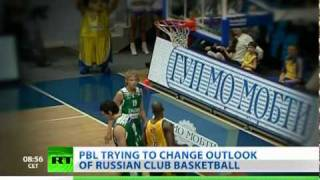 Battle for Basketball: Russia's new league aims high despite lack of referees and interest