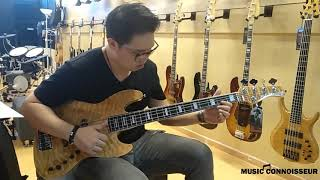 Sire Marcus Miller V7 & V9 Bass Guitars (2nd Gen) played by Michael Ning