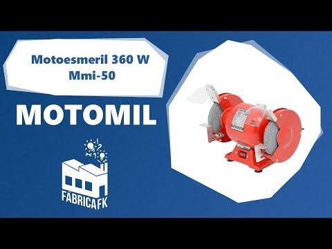 Motoesmeril 360 Watts MMI-50 Motomil – 220V - Vídeo explicativo