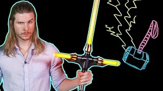 Can Kylo Ren Lift Thor's Hammer? (Because Science w/ Kyle Hill)