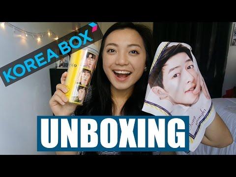 KPOP UNBOXING: KOREA BOX (OCTOBER BOX)