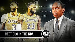 LEBRON AT DAVIS BEST DUO IN THE NBA!! - Ayon kay Stephen A. Smith