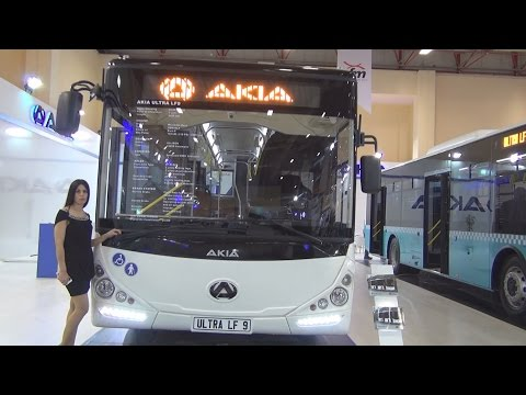 Akia Ultra LF9 Bus 2016 Exterior and Interior in 3D
