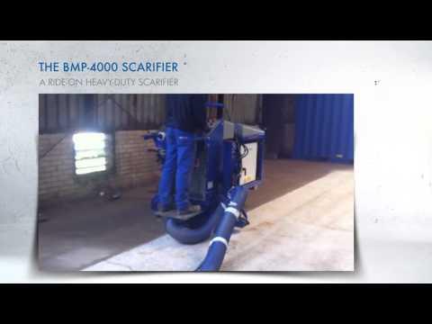 Blastrac Floor Scarifier