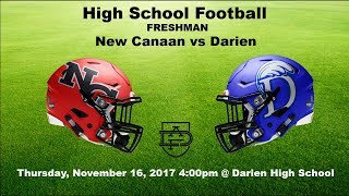 Darien Freshman Football vs New Canaan