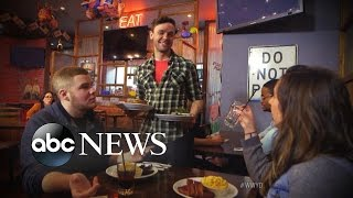 Absent-Minded Waiter [NY 2015] | What Would You Do? | WWYD