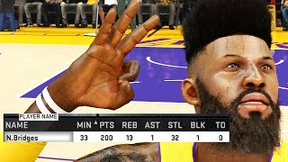 NBA 2k15 MyCAREER Gameplay S2 - How to Score 200 POINTS! QJB 200 Point Challenge