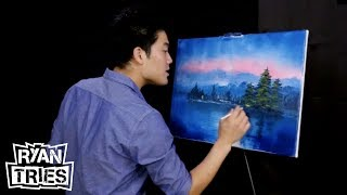 Ryan Tries: A Bob Ross Tutorial