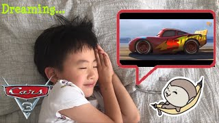 Disney Cars 3 Lightning McQueen ride on Unboxing and assembling. Daniel's dream come true.
