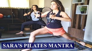 Sara Ali Khan's pilates work out will make you hit the gym..