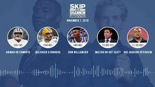 UNDISPUTED Audio Podcast (11.07.18) with Skip Bayless, Shannon Sharpe & Jenny Taft | UNDISPUTED