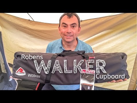 video Robens Walker Cupboard: Camping Furniture that won't take up all the space in your car