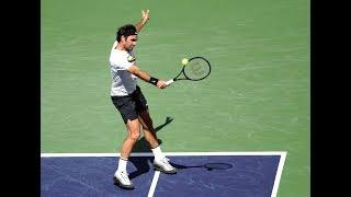 BNP Paribas Open 2018: Roger Federer Shot of the Day