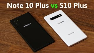 Galaxy Note 10 Plus vs Galaxy S10 Plus: UPGRADE or NOT