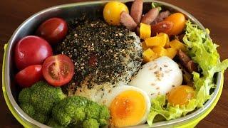 Rice ball lunch box (Jumeokbap: 주먹밥)