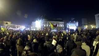 Protest la 24 de ani după '89 / 21 dec. / București
