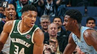 Milwaukee Bucks vs Memphis Grizzlies - Full Game Highlights   December 13, 2019   2019-20 NBA Season