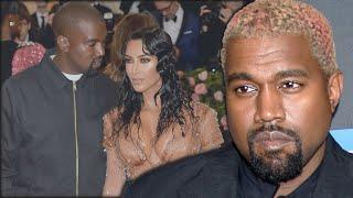 Kanye West Reacts To Kim Kardashian Divorce Filing