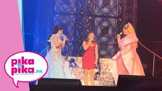 Vice Ganda and Regine Velasquez with na-surprise guest: Anton Diva