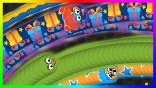 Wormate.io Biggest Worm Party Pro Trapping Wormateio Epic Trolling Gameplay