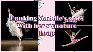 Everytime Maddie Ziegler has done her SIGNATURE LEAP on