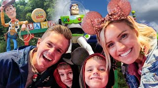 TOY STORY LAND Kicked Everyone Out For US! Disney World Tips!